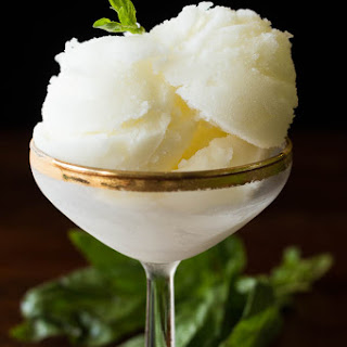 Lemon Sorbet: Easy, Elegant, and Refreshing.