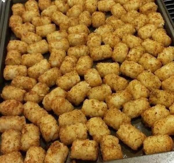 Seasoned Tater Tots (mexi-fries)