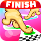 Follow the Line Duel 2D Deluxe (game)
