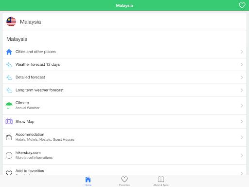玩免費天氣APP|下載馬來西亞氣象預報,引導旅客。 app不用錢|硬是要APP