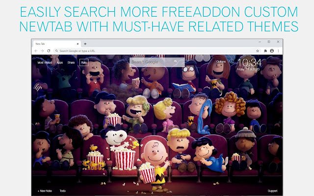 The Peanuts Movie Wallpaper HD The Peanuts Movie New Tab
