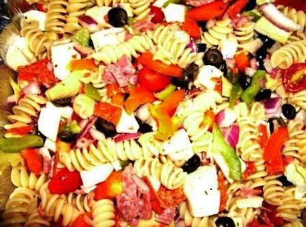 Not Your Mama's Pasta Salad Recipe