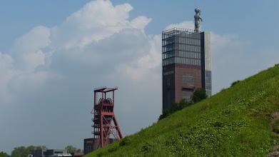 """Photo: THS-Turm; """"Herkules""""  Markus Lüpertz"""