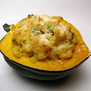 Mac and Cheese Stuffed Squash