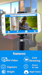 IP Webcam Ev Güvenlik Monitörü Ekran Görüntüsü