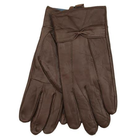 Handskar i läder (dam), bruna från Tom Franks