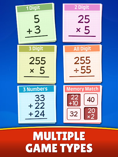 Math Games - Addition, Subtraction, Multiplication 0.0.5 screenshots 20