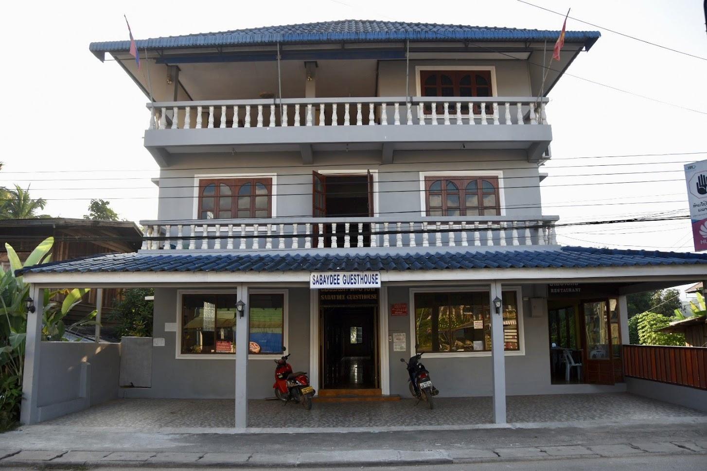 ラオス・フアイサーイにあるサバイディー・ゲストハウス
