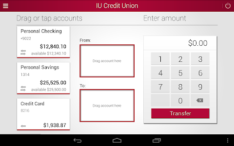IU Credit Union Mobile Banking screenshot 7