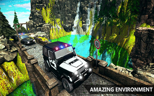 Offroad Police Jeep 4x4 Driving & Racing Simulator 1.7.4 screenshots 8