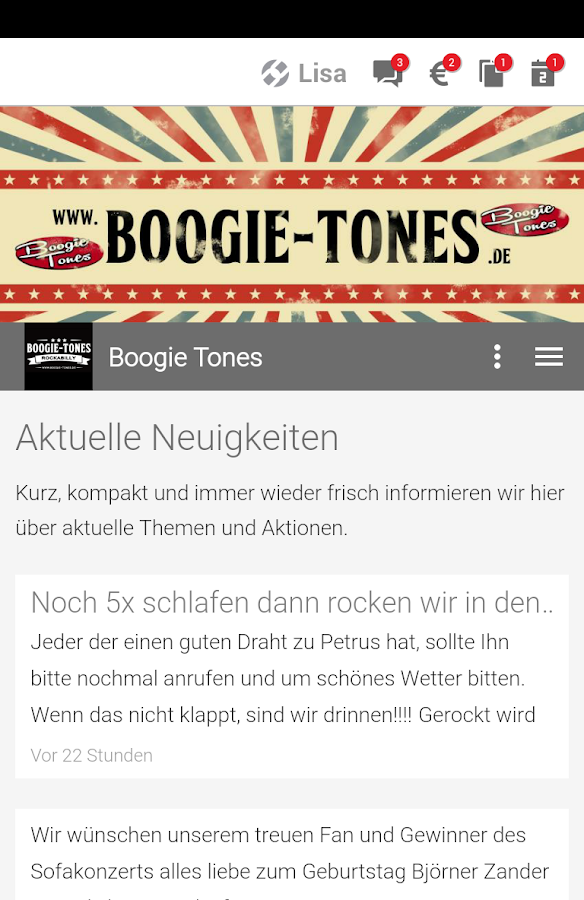 Boogie Tones- screenshot