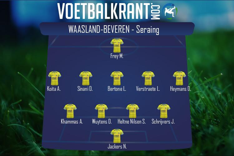 Waasland-Beveren (Waasland-Beveren - Seraing)