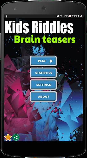 Kid Riddle Brain Teasers 101