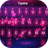 Sakura Blossom Typany Keyboard Android APK Download Free By Best Keyboard Theme Design