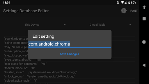 Settings Database Editor 2018.10.31 screenshots 2
