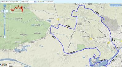 Photo: GPS aufgezeichnet auf GPSies >> http://72g.de/Xvs