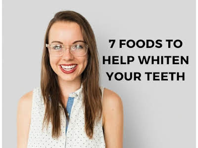 7 Foods to Help Whiten Your Teeth