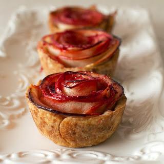 Mini Apple Rose Pies