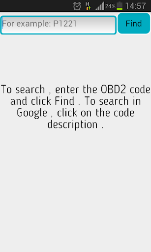 OBD2 Codes screenshot