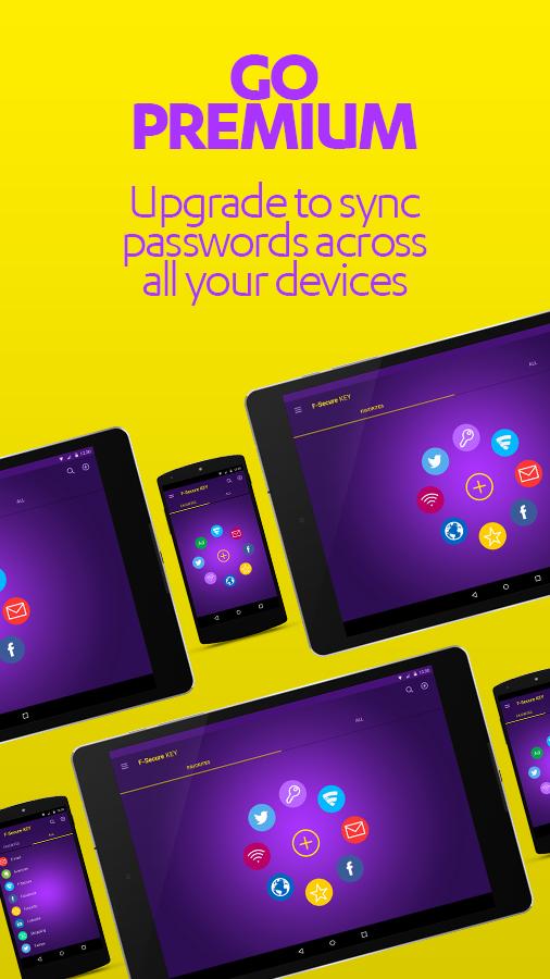 F-Secure KEY - screenshot