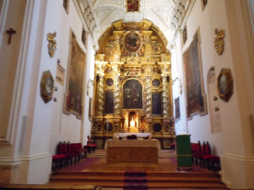 Altar mayor de la Iglesia de San Martín en Segovia