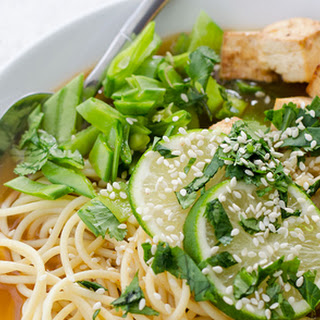 Spicy Asian Noodle Bowl