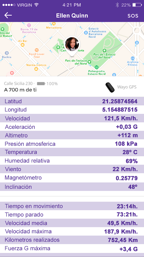 Phone Locator Wayo GPS Tracker- screenshot