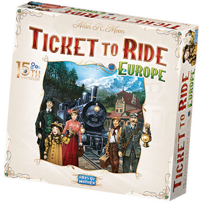Ticket To Ride: Europe 15th Anniversary Ed. (English)
