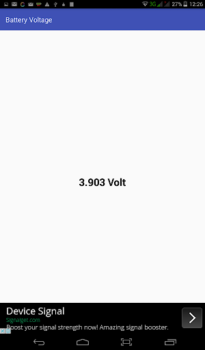 Battery Voltage Readout for PC