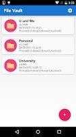 Screenshot of File Vault+Lock Photos,Videos