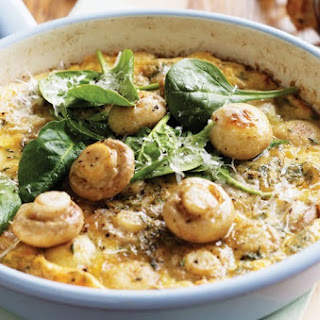 Mushroom & Parmesan Omelette Recipe