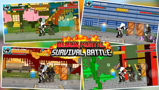 Block Mortal Survival Battle 5
