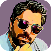 Cartoon Photo Editor Icon