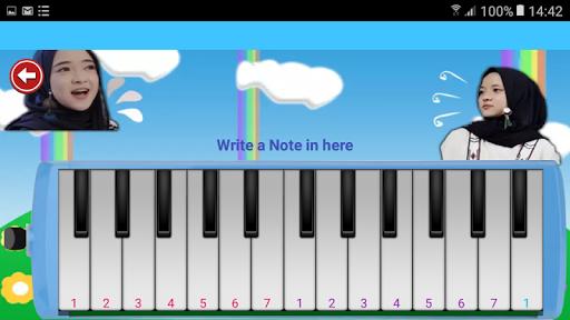 Pianika Nissa Sabyan - Mini Piano Nissa Sabyan
