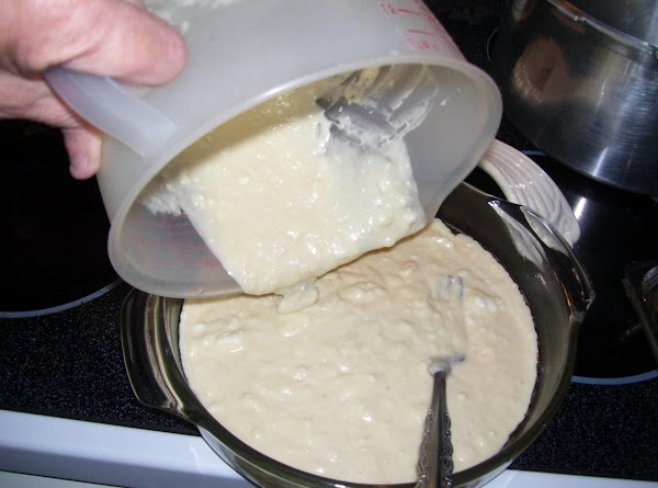 Spread Mixture in Greased Pan. Sprinkle With Streusel Topping (Below) or Other Toppings of Your...