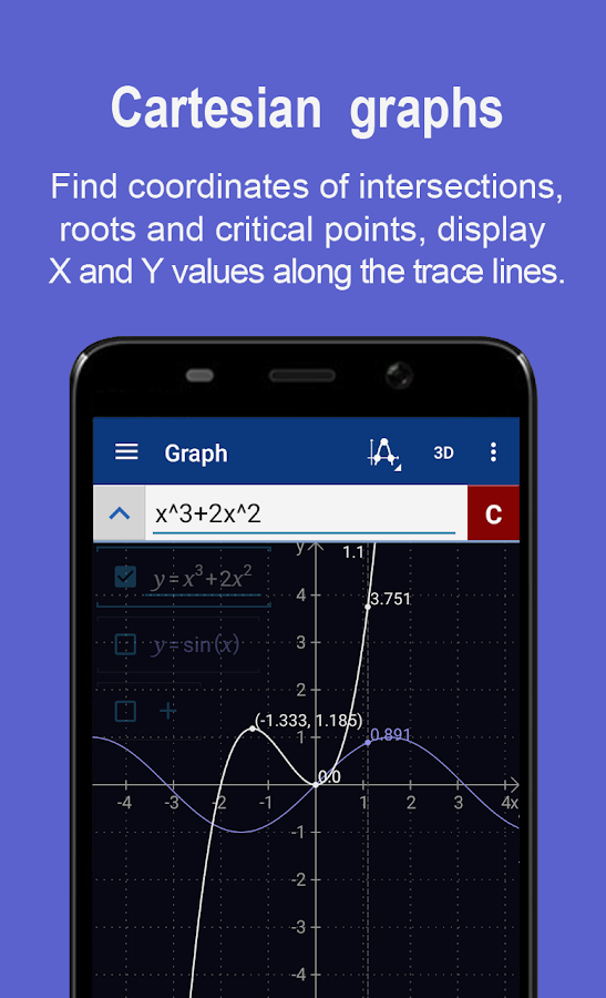 Grafikrechner + Math PRO – Screenshot