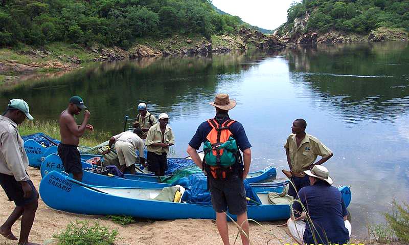 Kariba Launch into Kariba Gorge