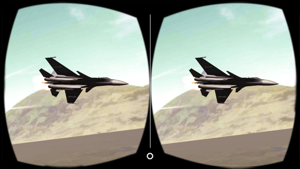VR Jet Fighter Dogfight Game- screenshot