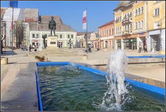 Photo: Turda - Piata Republicii - fantana arteziana  - 2018.11.08