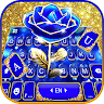 com.ikeyboard.theme.gold.blue.rose.crystal