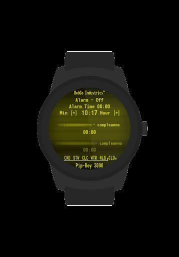 Screenshot for Pip-Boy Watchface [+Bonus] in United States Play Store