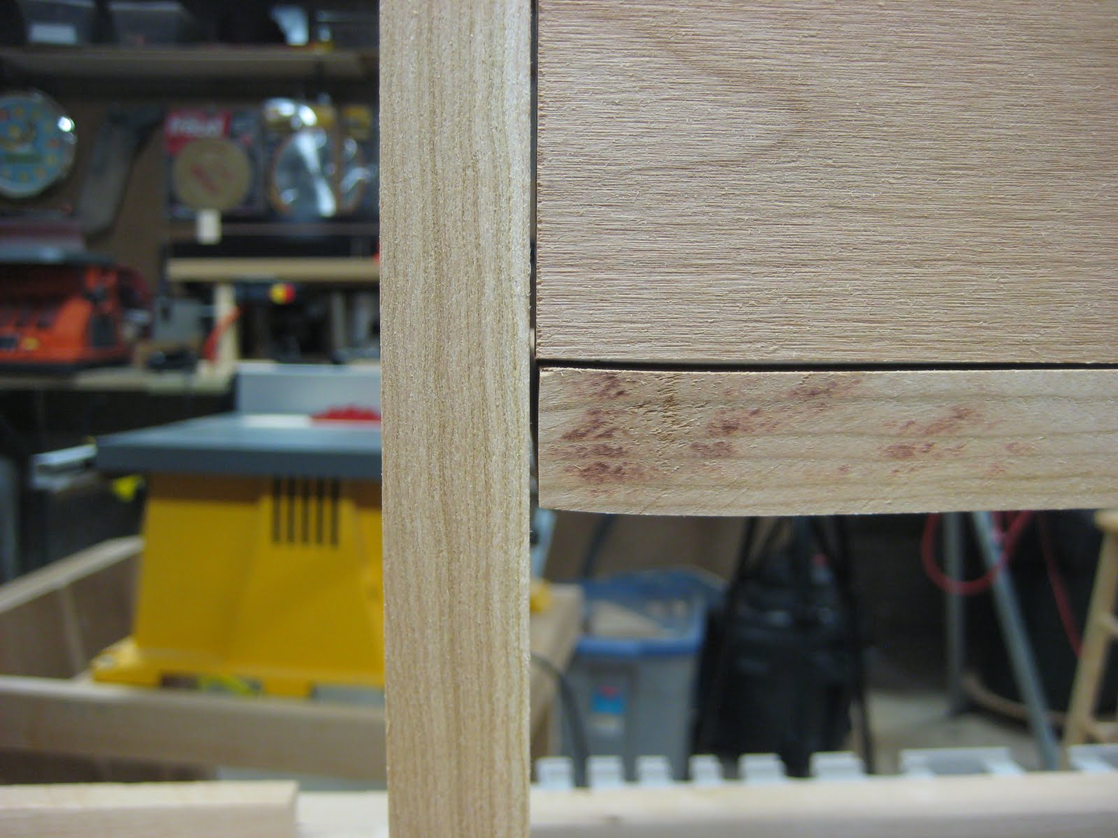 Photo: Maybe I should have cut this piece from a slightly different part of the board