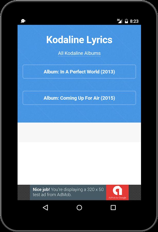 Best Music Lyric Kodaline - Android Apps on Google Play