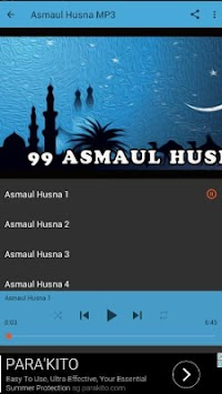 99 Asmaul Husna Mp3 Without Internet Poster
