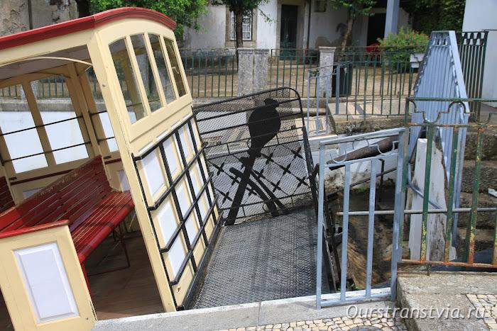 Трамвай на водяной тяге Бон Жезуш ду Монте
