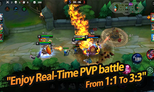 League of Masters: Legend PvP MOBA Apk Download For Android and Iphone 2