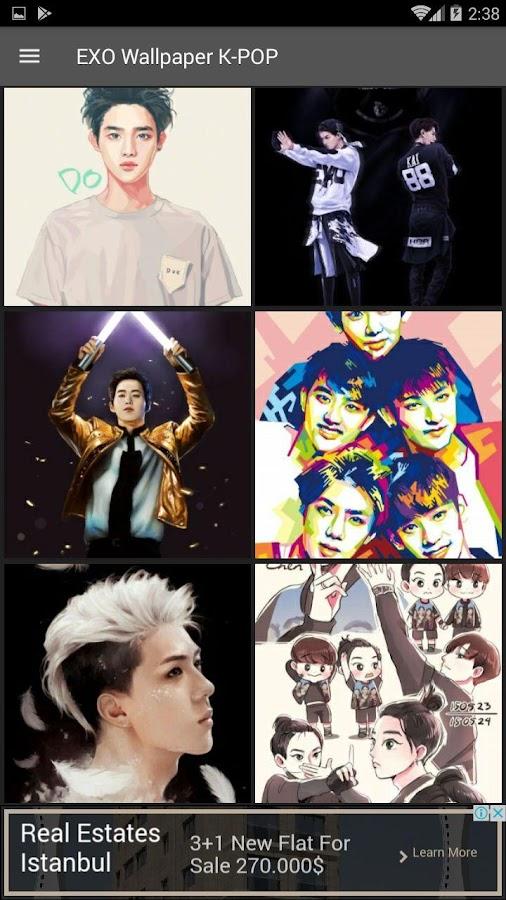 EXO Wallpapers KPOP - Android Apps on Google Play