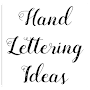 Hand Lettering Ideas APK icon