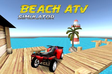 Beach ATV Simulator - náhled