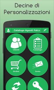 Catalogo Agenti Falco - náhled